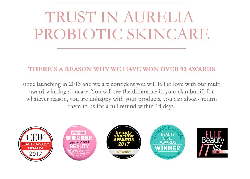 Trust in Aurelia Probiotic Skincare