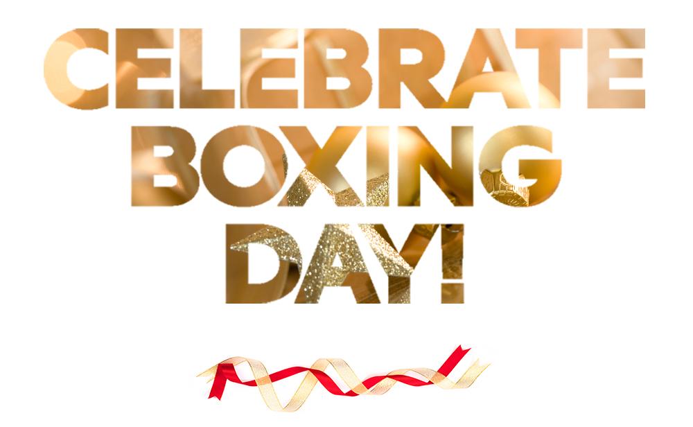 Celebrate Boxing Day!