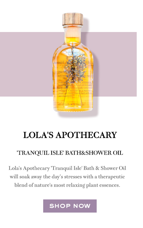 Lola's Apothecary Tranquil Isle Bath and Shower Oil