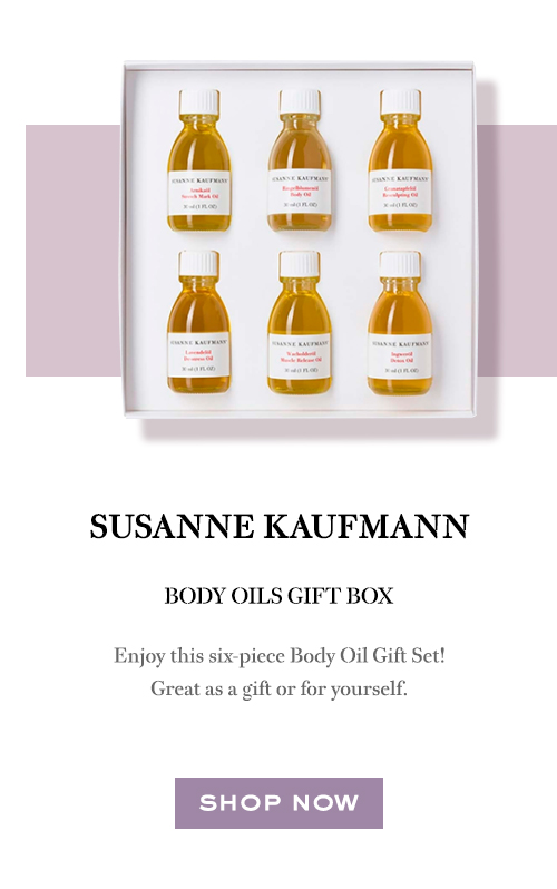 Susanne Kaufmann Body Oils Gift Box