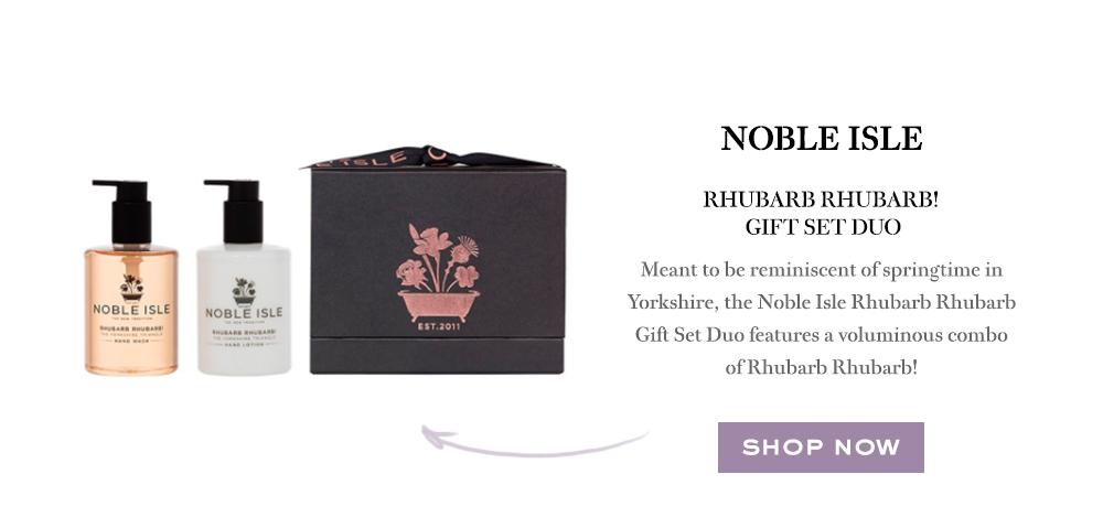 Noble Isle Rhubarb Rhubarb Gift Set Duo