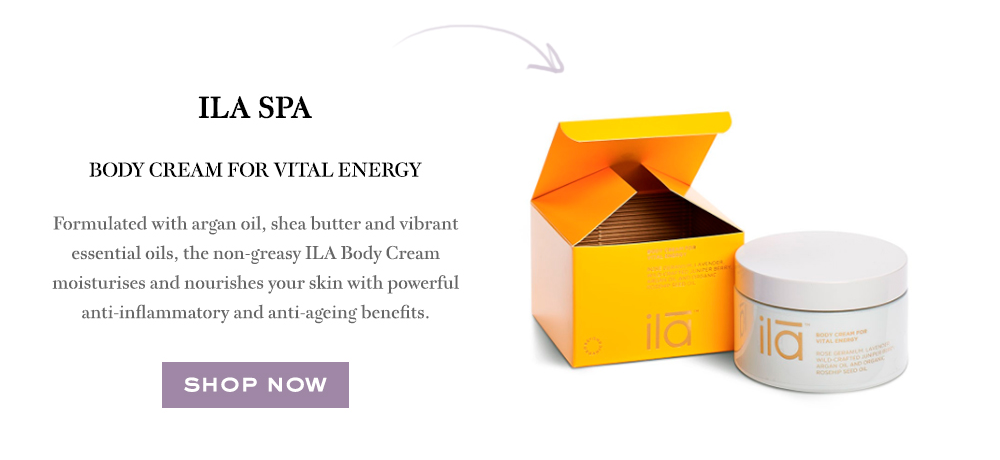 Ila Spa Body Cream For Vital Energy