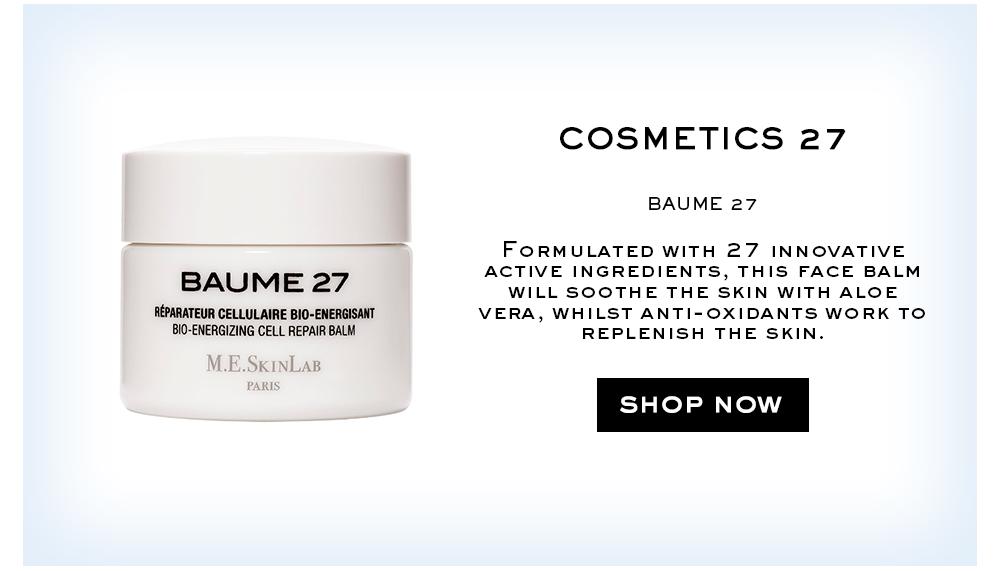 Cosmetics 27 Baume 28