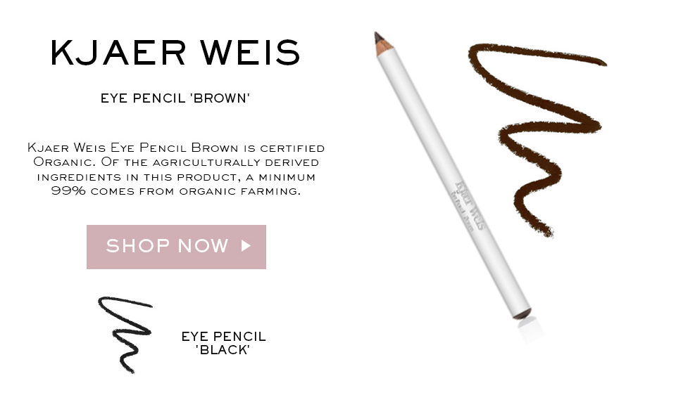 "Kjaer Weis Eye Pencil ""Brown"""