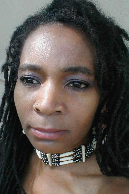 head shot of artist Nailah Sankofa