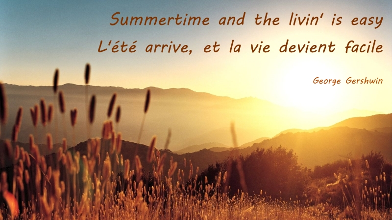 George Gershwin Quote - Summertime
