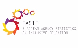 European Agency Statistics on Inclusive Education (EASIE) Logo.