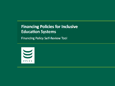 Financing Policy Self-Review Tool Cover Image.