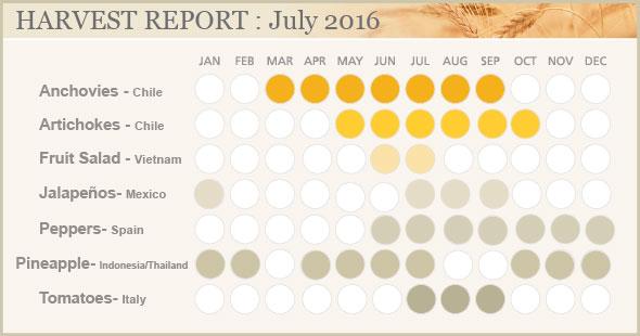 HARVEST REPORT : NOVEMBER 2015