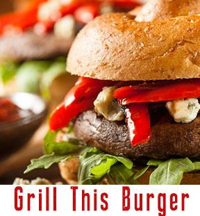 Red Pepper & Artichoke with Allioli Hamburger