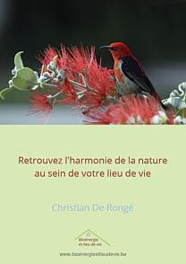 Retrouvez l'harmonie de la nature au sein de votre lieu de vie