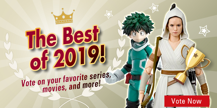 HobbyLink Japan Wants YOU to Vote for The Best Geek Entertainment of 2019!