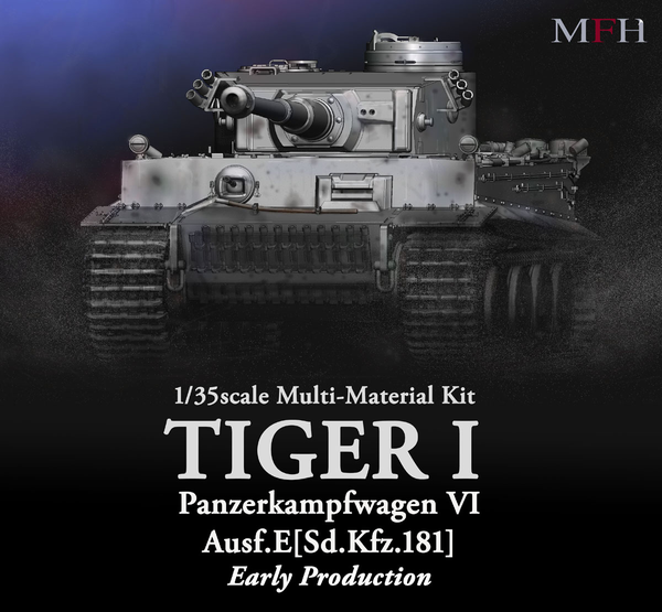 1/35 Tiger I Early Production Ultimate Kit by Model Factory Hiro