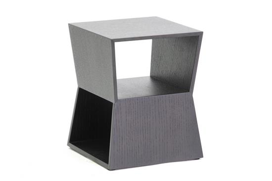 Baxton Studio Marche Black Wood Modern End Table ORG: $72 SALE PRICE: $65