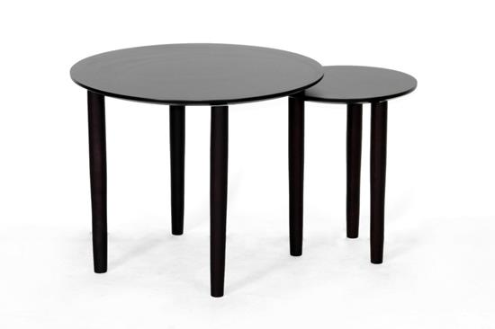 Baxton Studio Trevino Dark Brown Modern Nesting TableORG: $110 SALE PRICE:$99