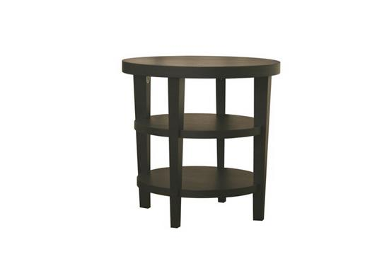 Baxton Studio Charleston Modern Black Wood End TableORG: $185 SALE PRICE: $167