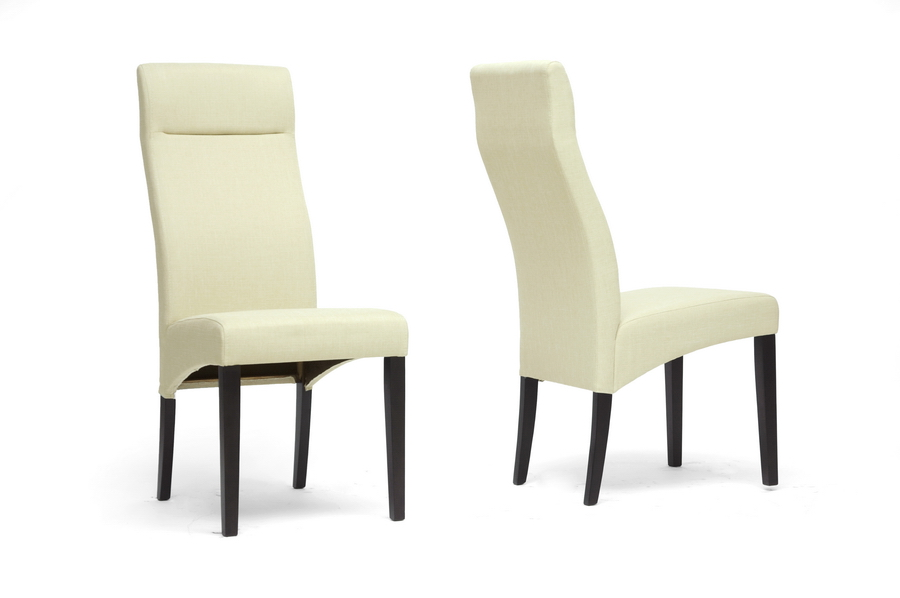 Baxton Studio Deborah Beige Modern Dining Chair ORG $79 SALE PRICE $71