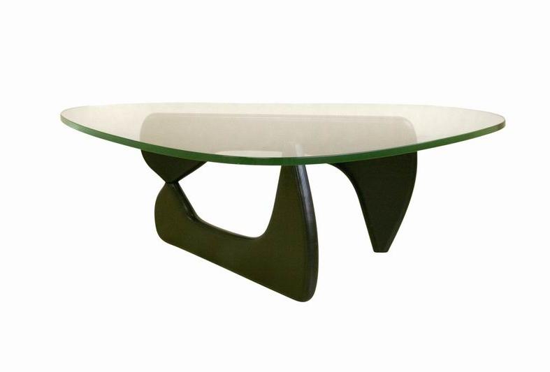 Baxton Studio Black base coffee table