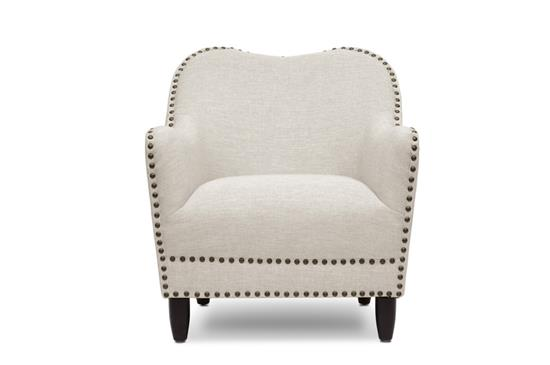 Baxton Studio Seibert Beige Linen Modern Accent ChairORG $229 SALE PRICE $183