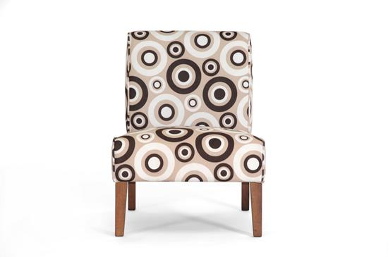 Baxton Studio Davis Tan Fabric Accent Chair ORG $119 SALES PRICE $107