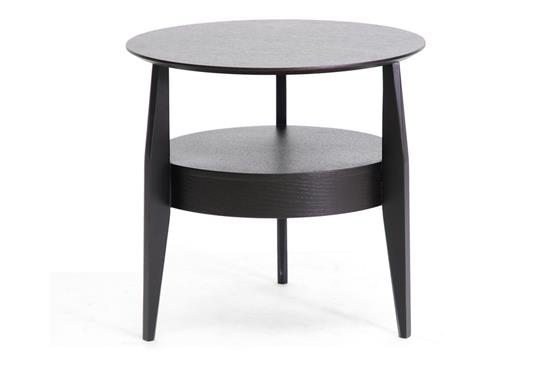 Baxton Studio Gretton Black Wood Modern End Table with Drawer ORG: $132 SALE PRICE: $119