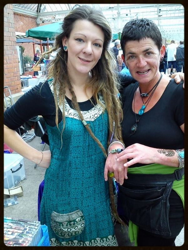 At Tynemouth Market with Sarah from Salt it Spice it Herb it
