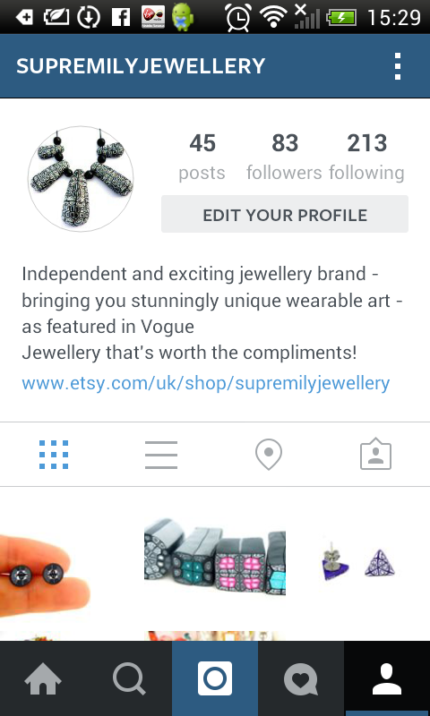 Supremily Jewellery on Instagram