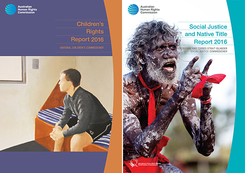 Children's Rights Report 2016 and Social Justice and Native Title Report 2016