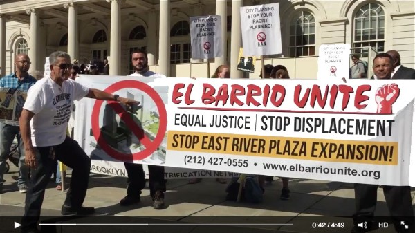 Video highlights from the September 17th #BANGentrification Press Conference at City Hall!