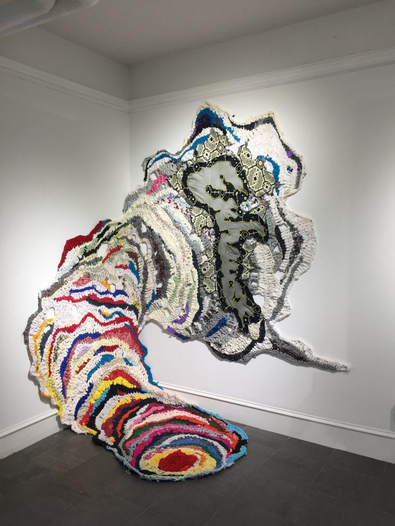 crochet art by Hannah March Sanders