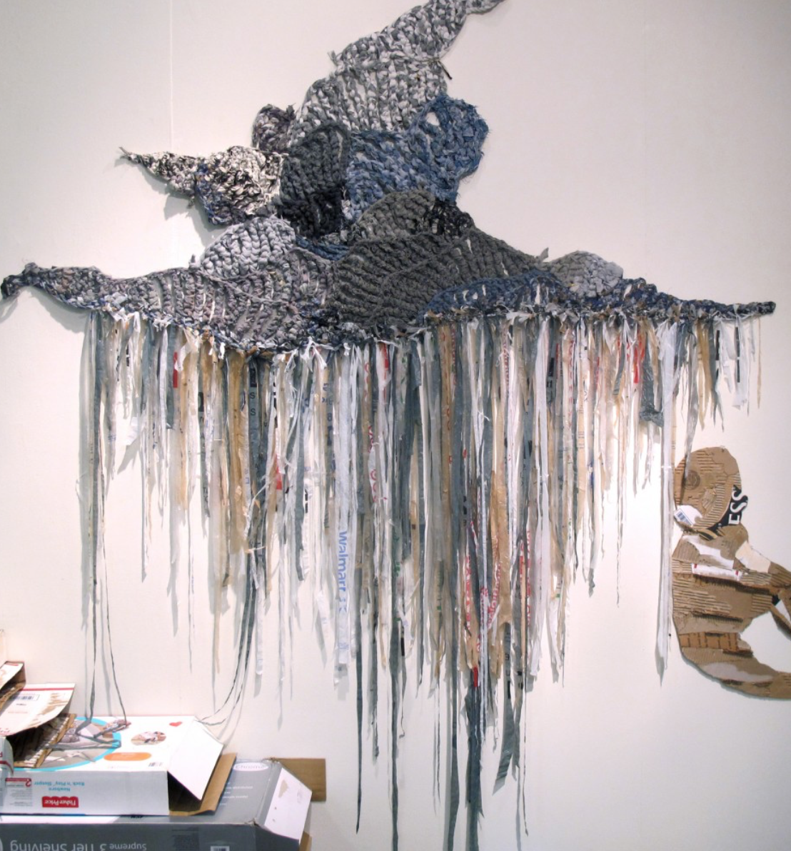 crochet art by Hannah Sanders