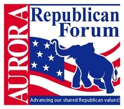 Aurora Republican Forum Logo