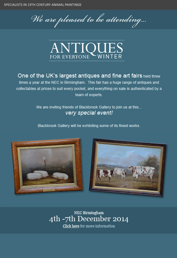 Antiques for everyone - winter - November 2014