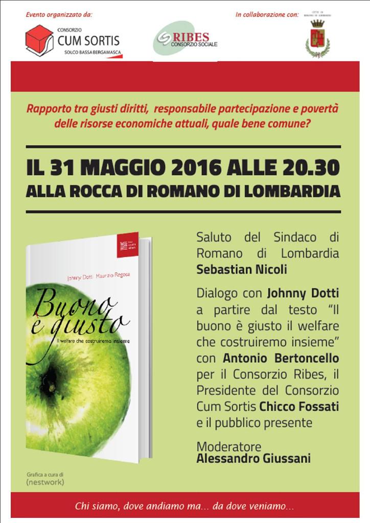 Romano, serata welfare