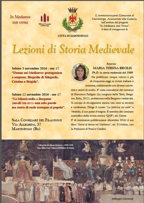 Martinengo, lezioni di storia medievale
