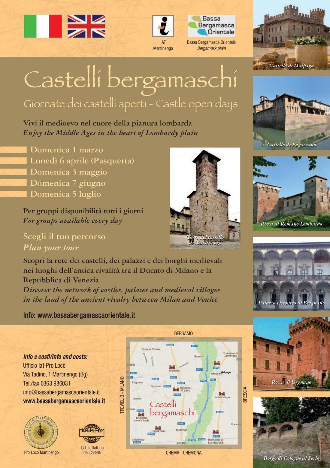 locandina castelli aperti