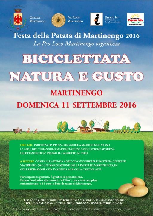Martinengo, Biciclettata Natura e Gusto