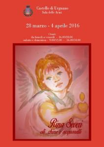 Urgnano, mostra Rina Severi: oli, chine e acquerelli