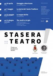 "Rassegna teatrale ""Stasera teatro!"""