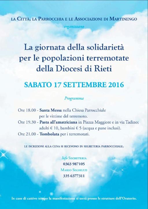 Giornata della solidarietà Martinengo