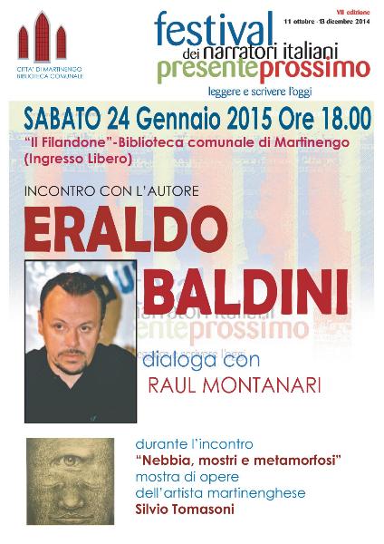 Eraldo Baldini incontro con l'autore