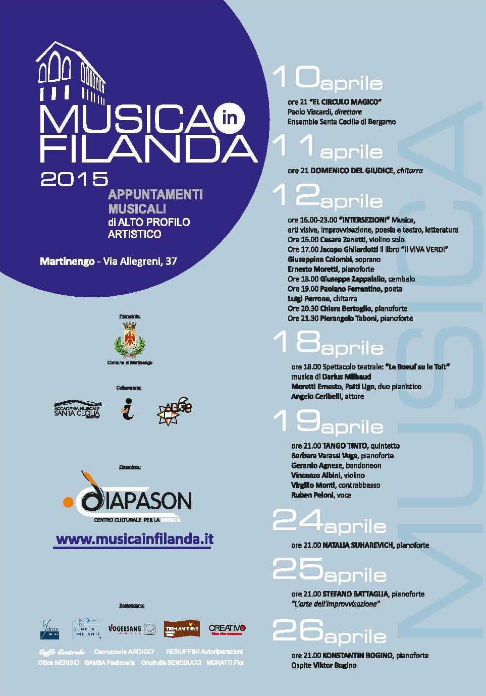 Musica in Filanda
