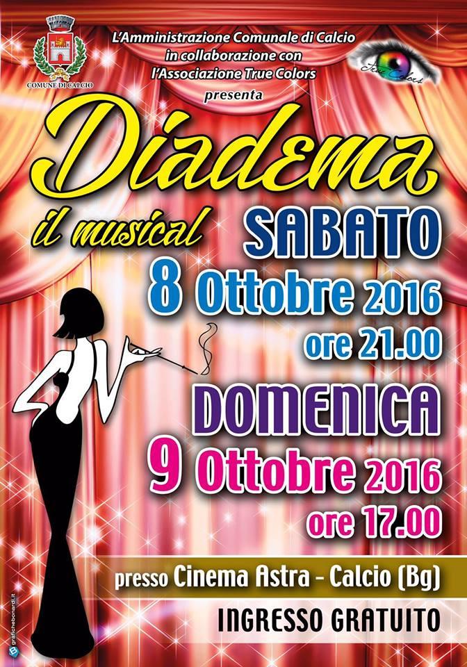 """Calcio, """"Diadema: il musical"""""""