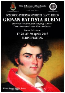 Concorso canto lirico G.B. Rubini