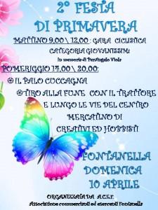 Fontanella, 2° festa di primavera