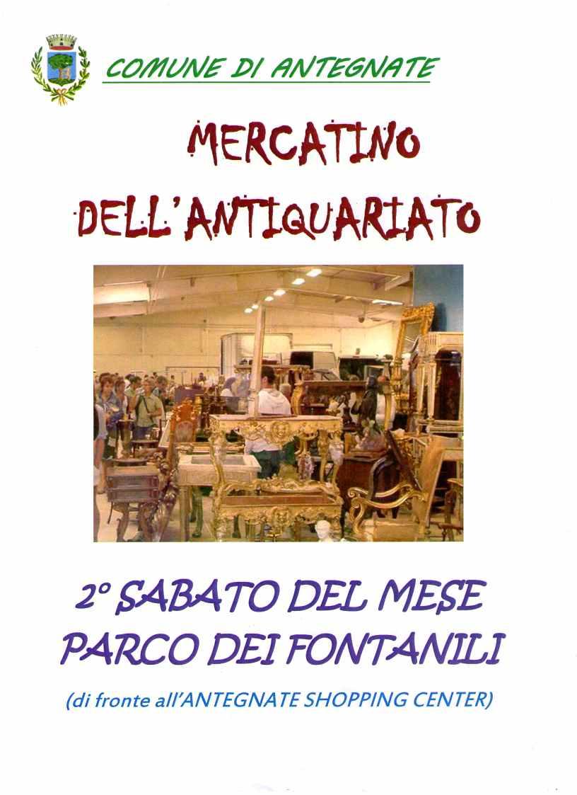 Mercato dell'antiquariato di Antegnate