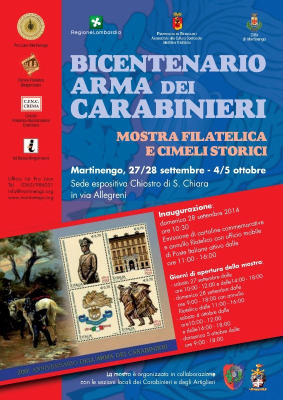 bicentenario arma dei carabinieri