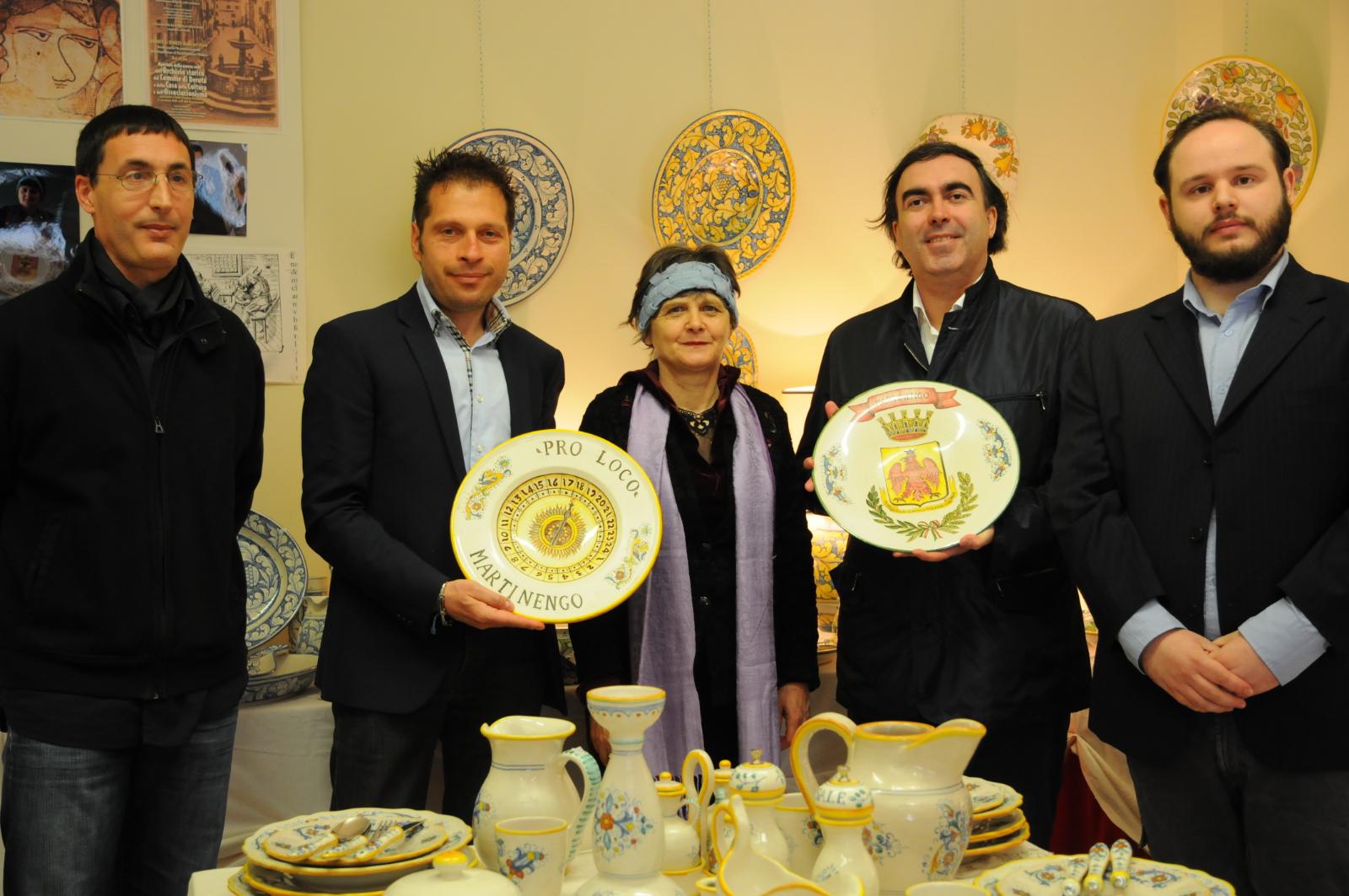 mostra di ceramiche