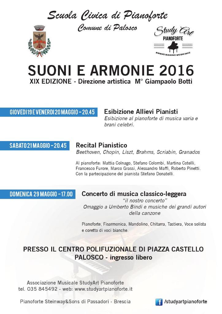 Palosco, serata Suoni e Armonie 2016