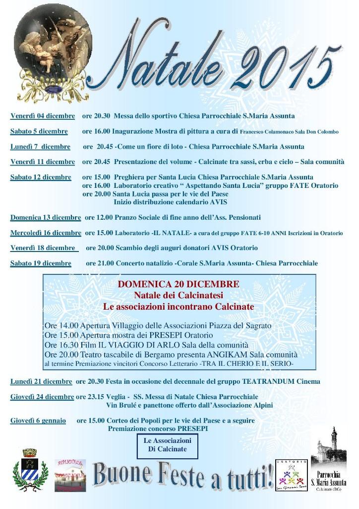 dicembre a Calcinate